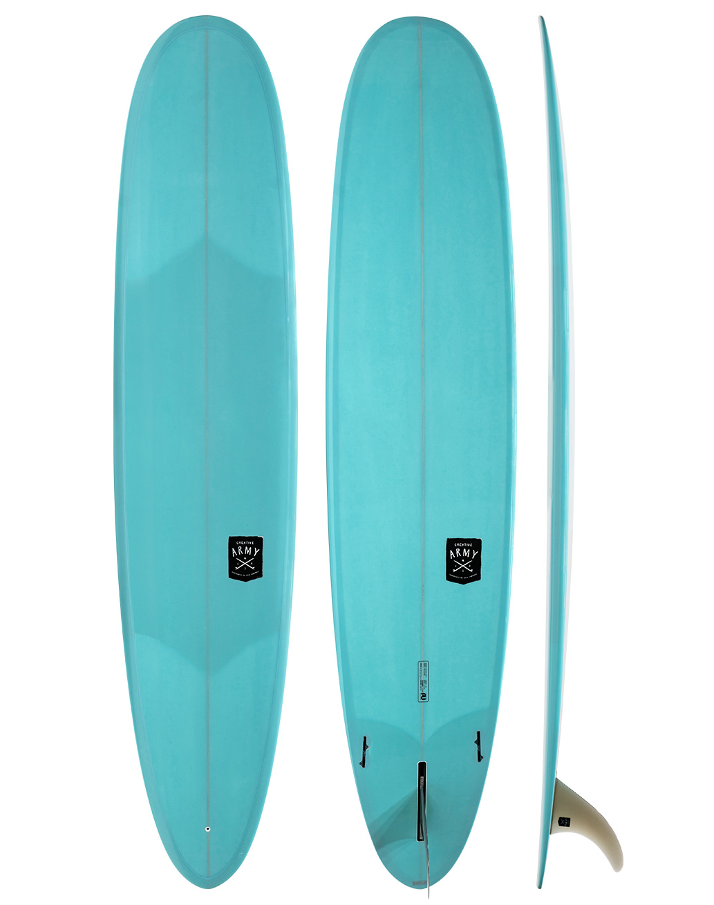 Creative Army Five Sugars PU Longboard Blue