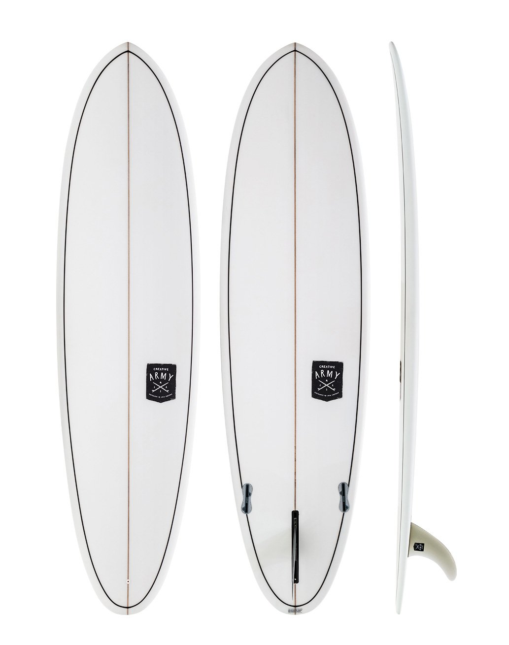 creative army huevo surfboard