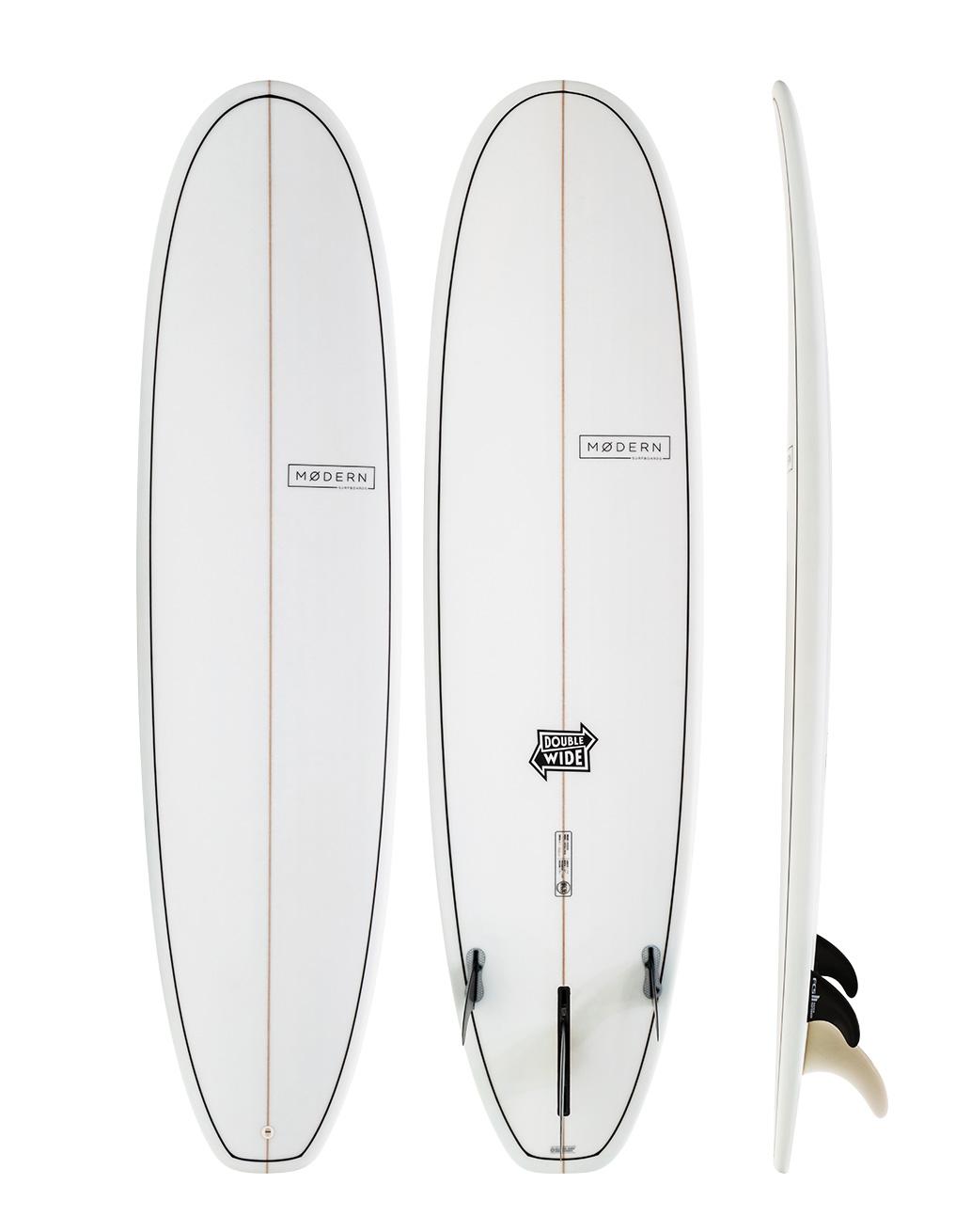 Modern double wide surfboard xls